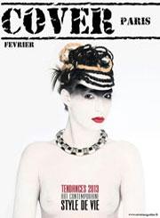Корица Cover Paris - грим Пепа Стоянова